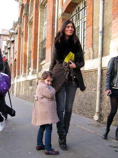 La-Bella-Mia: most stylish duo: Emmanuelle Alt and her daughter.