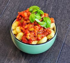 Tempeh Bolognese Sauce with Gnocchi
