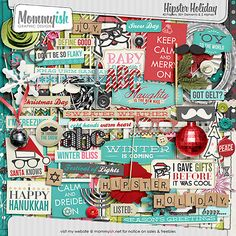 2012 December | THE DAILY DIGI:: Digital scrapbooking tutorials, reviews, and resources