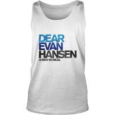 Dear Evan Hansen a new musical t-shirt.