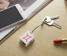 The charger is compatible with iPhone 5, 5C, 5S, 6 and 6 Plus and makes a useful accessory for daily use.