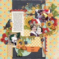 Harvest-Festival-2001 | AK Designs: WAMK Our Fasteners; Ponytails Designs: Crisp Autumn; Wendy Tunison Designs: Me and My Shadow