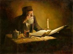 judaica old portrait of rabbi studying - Google Search