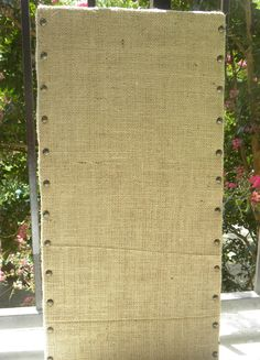 Framed Cork Board fabric covered bulletin board jewelry organizer