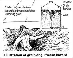 Grain Entrapment | Know Your Meme Grain Entrapment refers to when a person gets submerged in grain when the pile of grain they were standing on, like quicksand. The phenomenon has been joked about online for several years before growing in popularity in late 2017. Grain is no joke at KnowYourMeme.com.