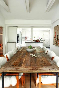 la cuisine en bois massif en beaucoup de photos! | plan de travail ... - Cuisine En Bois Brut