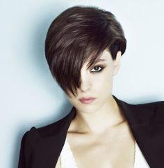Brunette hair: brunette, brown, dark hairstyles ideas 2016