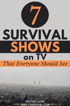 TV survival shows aren't survival courses. They are TV shows and their main purpose is to entertain. Some of them are genuine and challenging, while others are heavily staged. But, if you already spend too much time in front of the TV or other devices, it might be a good idea to watch some of these survival shows. Read article for more! #simplysurvival #survivalshows #tvshows #survivaltvshows #survivaldocumentary #bestsurvivaltvshows #prepping #preppers #wilderness #shtf… Survival Courses, Survival Guide, Survival Skills, Man Vs Wild, Disaster Movie, Survival Books, Mental Strength, Ordinary Lives, Sci Fi Movies