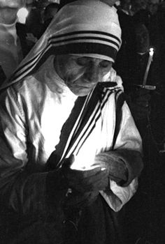 """Blessed Teresa of Calcutta,born Agnes Gonxha Bojaxhiu (Albanian and commonly known as Mother Teresa of Calcutta (26 August 1910 – 5 September 1997), was an ethnic Albanian, Indian Roman Catholic nun. """"By blood, I am Albanian. By citizenship, an Indian. As to my calling, I belong to the world"""