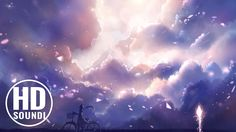 """Most Beautiful Music: """"Purple Skies"""" by Really Slow Motion Sky Anime, Anime Manga, Anime Art, Sky Landscape, Landscape Paintings, Photo Wallpaper, Wallpaper Backgrounds, Wallpaper Art, Sky Images"""
