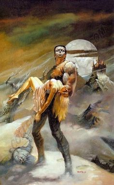 Boris Vallejo Frankenstein = For Sale Comic Art