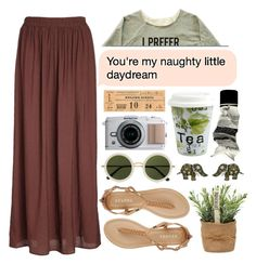 """You're my naughty little daydream."" by thvnder ❤ liked on Polyvore featuring Monsoon, Report, Aesop, Könitz, The Row and 116"