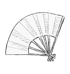 japanese+fan+drawing | Japanese fan vector
