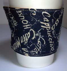 Coffee Cozy / Hot Beverage Sleeve - pinned by pin4etsy.com