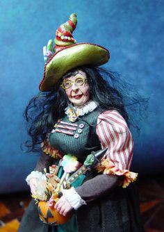 Candy Witch BY Igma Fellow Marcia Backstrom Dollhouse Miniature | eBay