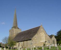 Exterior view of Holy Trinity, Cuckfield