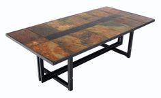 Steel frame for table