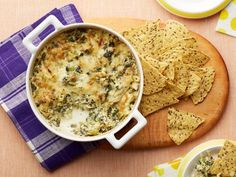 Kale and Artichoke Dip: Used red russian kale. Another one where you can't go wrong smothering something in cheese
