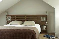 Récup palettes- 34  chambres à coucher- la tête de lit palette - tete-a-lit-pas-cher