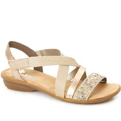 82451a695b3f5b Stretchy Sandal (RKR25524) by Rieker @ Pavers Shoes - Your Perfect Style.