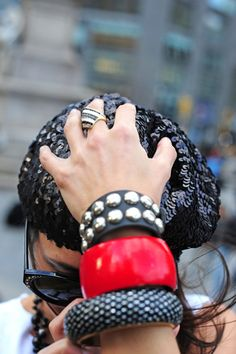 arm party as coined by man repeller @ nycpretty.com