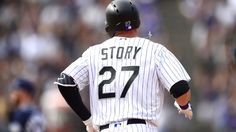 Rockies' Trevor Story first rookie ever to homer in first four games
