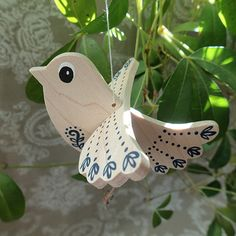 Bird Crafts, Diy And Crafts, Crafts For Kids, Arts And Crafts, Wooden Decor, Wooden Art, Christmas Angel Ornaments, Christmas Crafts, Decorative Household Items