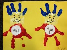 thing one and thing two dr. seuss craft