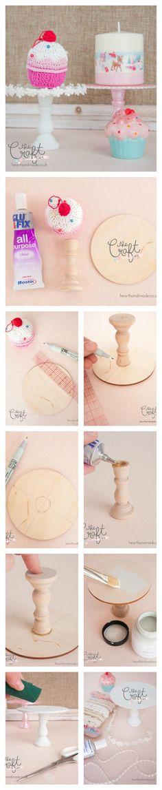 Craft Cafe DIY Cupcake Stand Tutorial