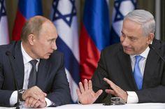 Netanyahu a Putin: las armas rusas en Siria amenazan a Israel