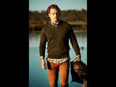 Outlander Sam Heughan for Barbour 2017 collection @outlanderamerica