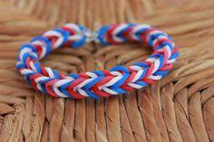Fishtail- Rainbow Loom Bracelet