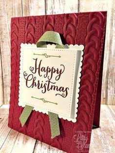 Stampin' Up! Cards - So easy! - Stampin' Up! Cards - So easy! - Becky Wright Stampin' Up! Cards - So easy! Christmas Cards 2017, Cheap Christmas Gifts, Christmas Paper Crafts, Homemade Christmas Cards, Noel Christmas, Xmas Cards, Christmas Greetings, Homemade Cards, Handmade Christmas