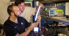Nuevo tipo de luminaria promete dejar a los tubos fluorescentes como algo obsoleto