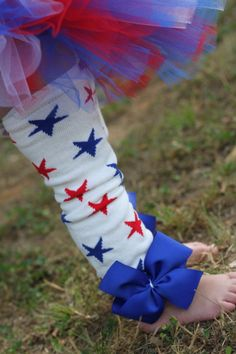Baby Girl Leg Warmers Bow Leg Warmers by DarlingLittleBowShop