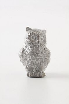 Owl Forestry Guard Knob from Anthropologie.  Just got it for the vanity in my powder room!