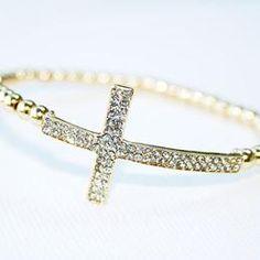 Cross bracelet#Repin By:Pinterest++ for iPad#