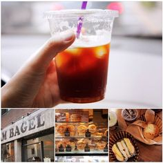 Weather is wonderful what about having Bagel brunch? @ I'm Bagel