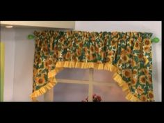 Como hacer una Cenefa Escalonada. Sonia Franco 5/5 - YouTube Sonia Franco, Valance Curtains, Sewing Projects, Petra, Couture, Kitchen, Home Decor, Moldings, Craft