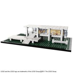 LEGO(R) Architecture Farnsworth House