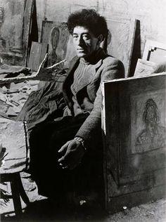 Brassaï - Alberto Giacometti, 1948 - Poéticas Visuais