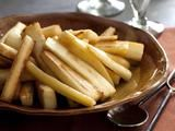 maple roasted parsnips (adding in carrots)