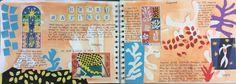 Y10 GCSE Graphics Matisse research homework