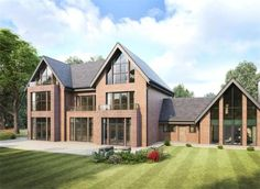 5 bedroom detached house for sale in 5 Burnthwaite Hall, Old Hall Lane, Lostock, Bolton, Lancashire - Rightmove. Home Building Design, Building A House, Lofts, House Extension Design, Modern Contemporary Homes, Property Design, Modern Mansion, Modern House Design, Detached House
