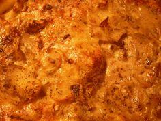 Swedish potatisgratäng, potatisgratang recipe. Potato gratin from Sweden the perfect company for roast lamb.