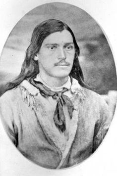 "Luther Sage Kelly, also called ""Yellowstone Kelly"", born 1849 and died 1928; scout and frontiersman."