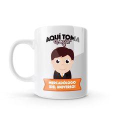 Mug - Aquí toma el mejor mercadólogo del universo, encuentra este producto en nuestra tienda online y personalízalo con un nombre o mensaje. Chocolate Caliente, Snoopy, Mugs, Tableware, Character, Social, Art, Dietitian, Occupational Therapist
