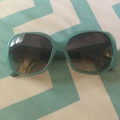 Authentic Teal Versace Sunglasses
