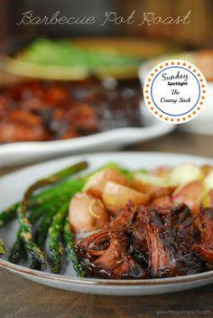 Blogghetti: Sunday Spotlight #4 - Barbecue Pot Roast