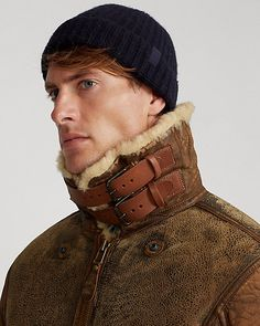 Mens Winter Sweaters, Athletic Fashion, Athletic Style, Bomber Coat, Diy Clothes, Ralph Lauren, Leather Jacket, Jackets, Fashion Design